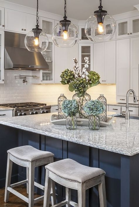Magnificent Deluxe Pendant Lamps For Kitchen Throughout Best 25 Kitchen Island Lighting Ideas On Pinterest Island (View 18 of 25)