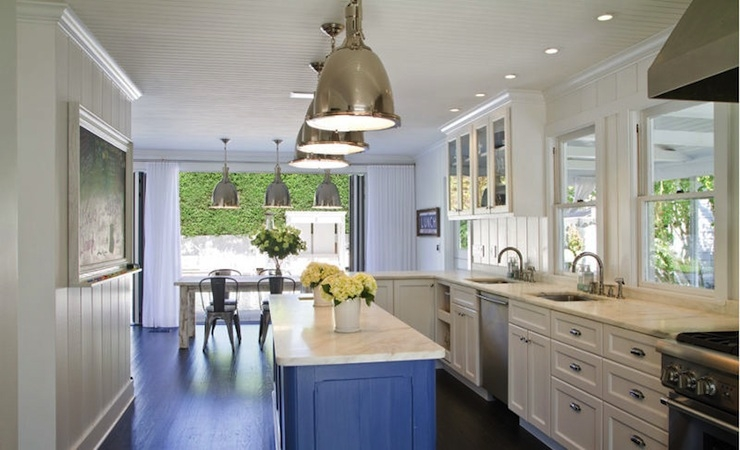 Magnificent Elite Benson Pendant Lights Within Beadboard Kitchen Ceiling Contemporary Kitchen Chango Co (Image 14 of 25)