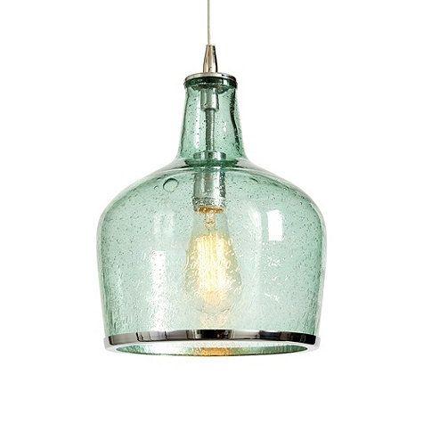 Magnificent Elite Green Kitchen Pendant Lights Regarding 105 Best Sea Glass Lighting Images On Pinterest (Image 19 of 25)