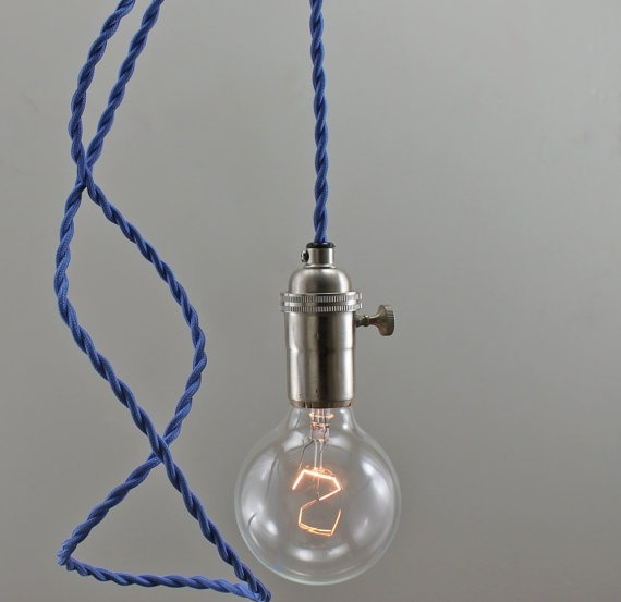 Magnificent Famous Bare Bulb Filament Single Pendants Intended For Inspiring Light Pendant Lighting Cozy Bliss (Image 16 of 25)