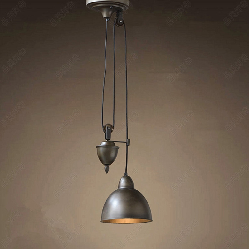 Magnificent Famous Pulley Pendant Lights With Online Get Cheap Pulley Light Fixtures Aliexpress Alibaba Group (Image 17 of 25)