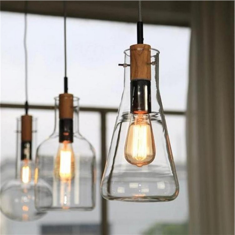 Magnificent Famous Wine Bottle Pendant Lights Regarding Popular Wine Glass Light Fixture Buy Cheap Wine Glass Light (View 14 of 25)