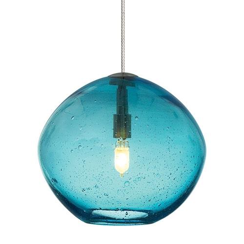 Magnificent Fashionable Aqua Pendant Light Fixtures Throughout Aqua Glass Pendant Lighting Bellacor (Image 19 of 25)