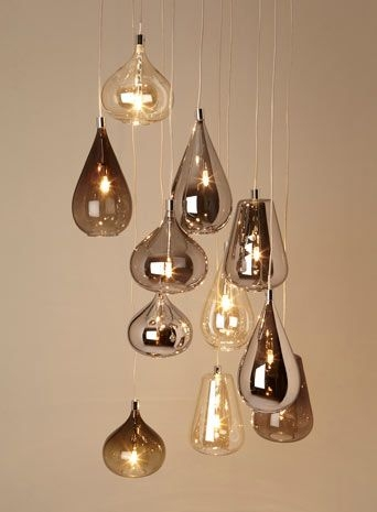 Magnificent Fashionable Cluster Glass Pendant Light Fixtures Inside Best 25 Cluster Lights Ideas Only On Pinterest Unique Lighting (Image 16 of 25)