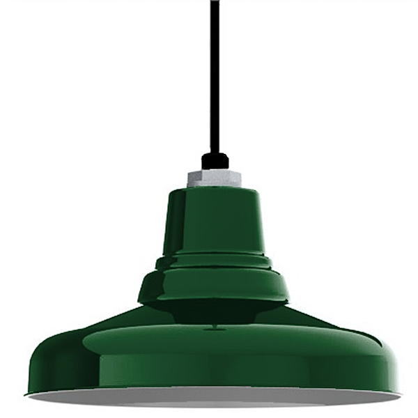 Magnificent Fashionable Union Lighting Pendants Throughout Ivanhoe Union Porcelain Steel Shade Pendant Barn Light Electric (Image 16 of 25)