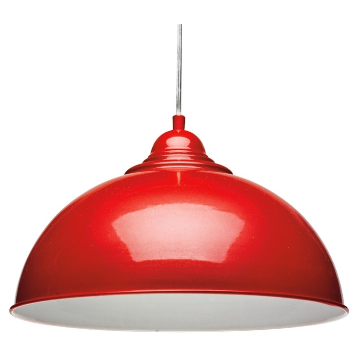 Magnificent High Quality Retro Pendant Lights Intended For Retro Pendant Light Fitting In Red Home Decorating Pinterest (Image 19 of 25)