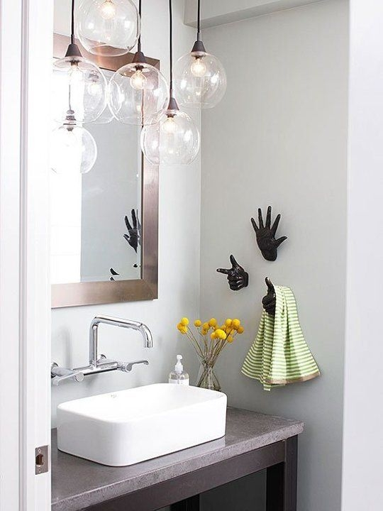 Magnificent Latest Bathroom Mini Pendant Lights For Marvelous Hanging Bathroom Light Fixtures 2017 Ideas Hanging (Image 22 of 25)