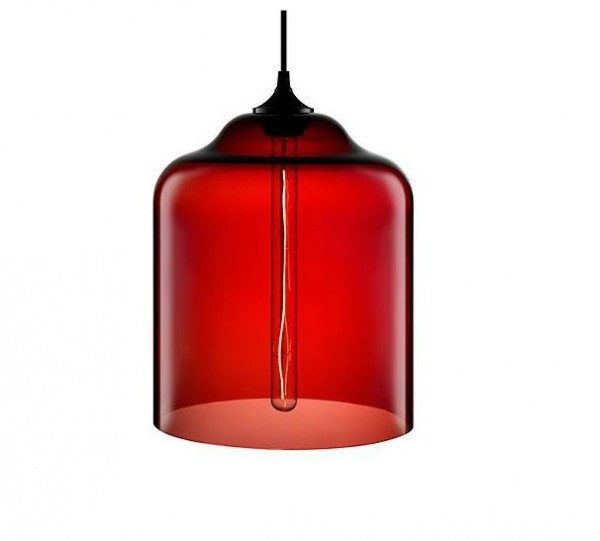 Magnificent Latest Modern Red Pendant Lighting Regarding Modern Pendant Lights With An Industrial Look Interior Design (Image 19 of 25)