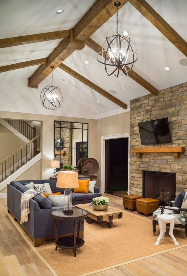 Magnificent Latest Vaulted Ceiling Pendant Lights Inside Best 10 Vaulted Ceiling Lighting Ideas On Pinterest Vaulted (View 23 of 25)