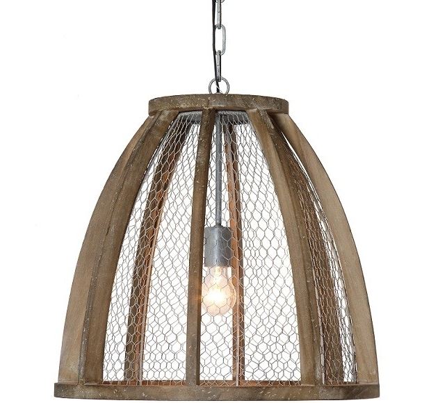 Magnificent New Chicken Wire Pendant Lights With Chicken Wire Pendant Light Campernel Designs (Image 19 of 25)