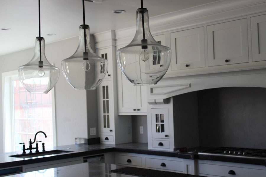 Magnificent New Double Pendant Lights For Kitchen Intended For Kitchen Simple Lantern Style With 3 Light Kitchen Island (Image 22 of 25)