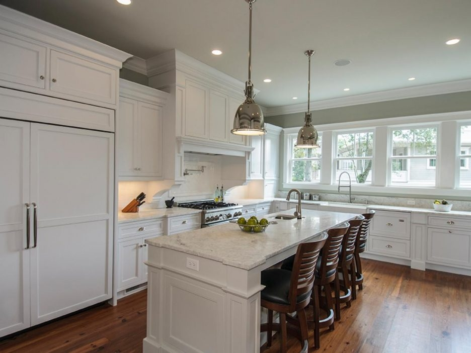 Magnificent Popular Brushed Stainless Steel Pendant Lights In Kitchen Kitchen Island Pendant Lighting With Amazing Kitchen (View 20 of 25)