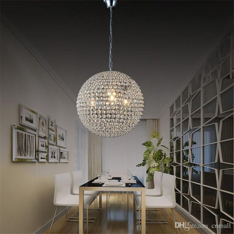 Magnificent Preferred Ball Pendant Lighting In Led Crystal Ball Lighting Crystal Pendant Lights Minimalist Living (Image 17 of 25)