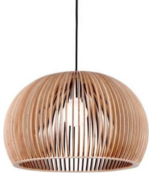 Magnificent Preferred Bent Wood Pendant Lights With Regard To Bentwood Bowl Ceiling Pendant Lighting For Indoor Decor (Image 20 of 25)