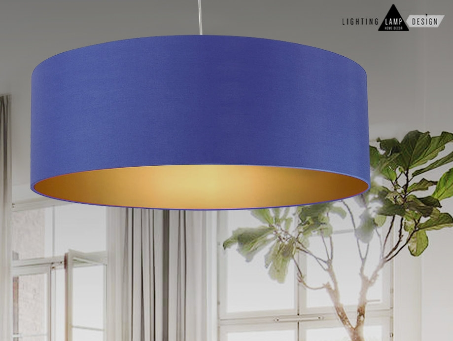Magnificent Premium Blue Pendant Light Shades Throughout Lovable Extra Large Ceiling Light Shades Extra Large Ceiling Lamp (Image 20 of 25)
