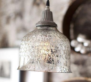 Magnificent Premium Mercury Glass Pendant Lights Regarding Mercury Glass Faux Sho Tutorial (View 14 of 25)