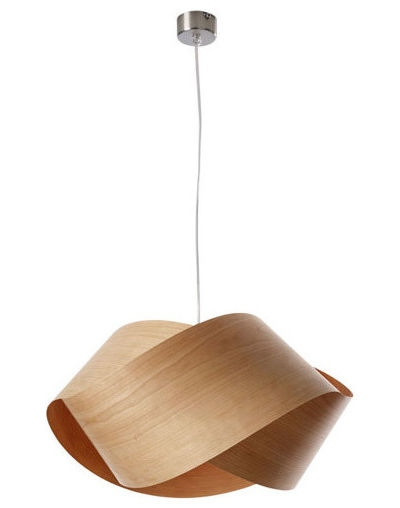 Magnificent Premium Wood Veneer Pendant Lights Intended For New Classics Lzfs Nut Suspension Light (View 18 of 25)