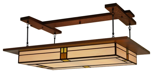 Magnificent Trendy Mission Style Pendant Lighting In Arts Crafts Style Prairie Light Fixture Vintage  (Image 20 of 25)