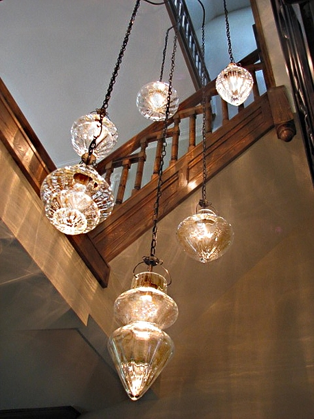 Magnificent Unique Stairwell Pendant Lights Throughout Cristallo Cluster In Stairwell Yc Pendant Lights Pinterest (Image 21 of 25)