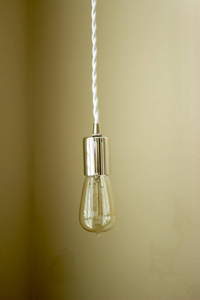 Magnificent Variety Of Bare Bulb Filament Pendants Polished Nickel For 69 Best Socket Images On Pinterest (View 15 of 25)