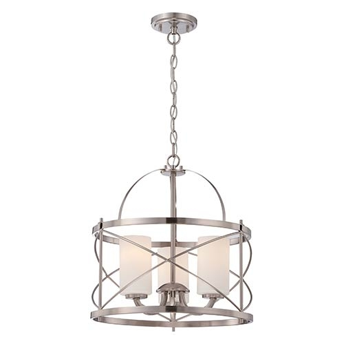 Magnificent Variety Of Pendant Lighting Brushed Nickel Pertaining To Nickel Brushed Pendant Lighting Bellacor (Image 22 of 25)