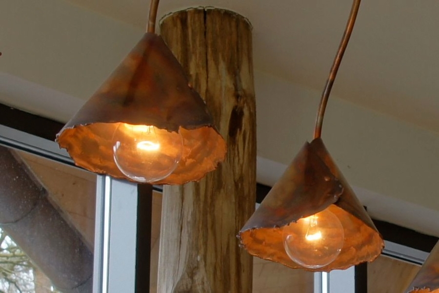 Magnificent Variety Of Rustic Lighting Within Beautiful Rustic Copper Lighting Dutch Designer Willem Simonis (Image 20 of 25)