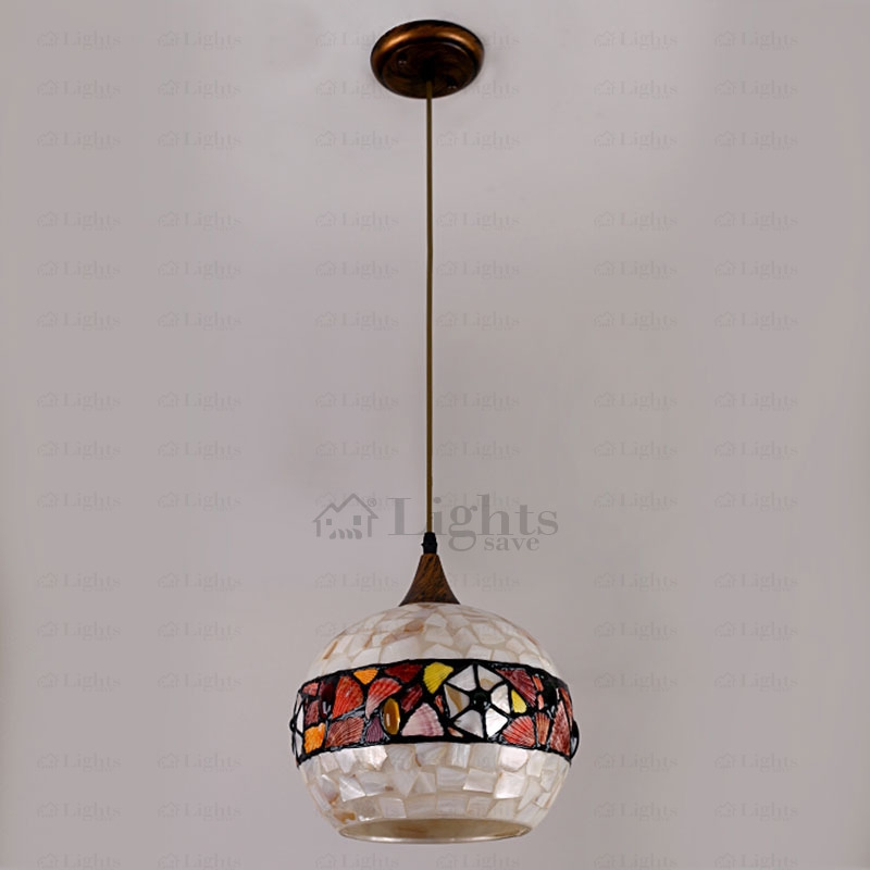 Magnificent Variety Of Shell Light Shades Pendants Pertaining To Mediterranean Pendant Light Shade Shell Shade (View 22 of 25)