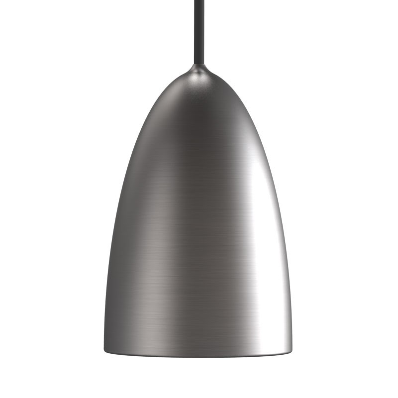 Magnificent Well Known Brushed Stainless Steel Pendant Lights Throughout Brushed Steel Lighting The Best Brush (View 13 of 25)