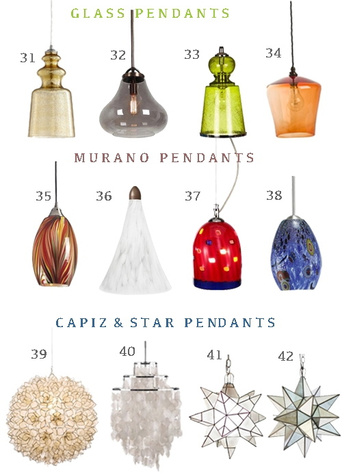 Magnificent Wellknown Murano Glass Mini Pendant Lights Throughout Get The Look 48 Pendant Lights Perfect For Hallways Stylecarrot (View 15 of 25)