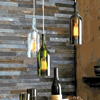 Magnificent Well Known Wine Bottle Pendant Lights With The Frugal Tree Wine Bottle Pendant Light How To (View 10 of 25)