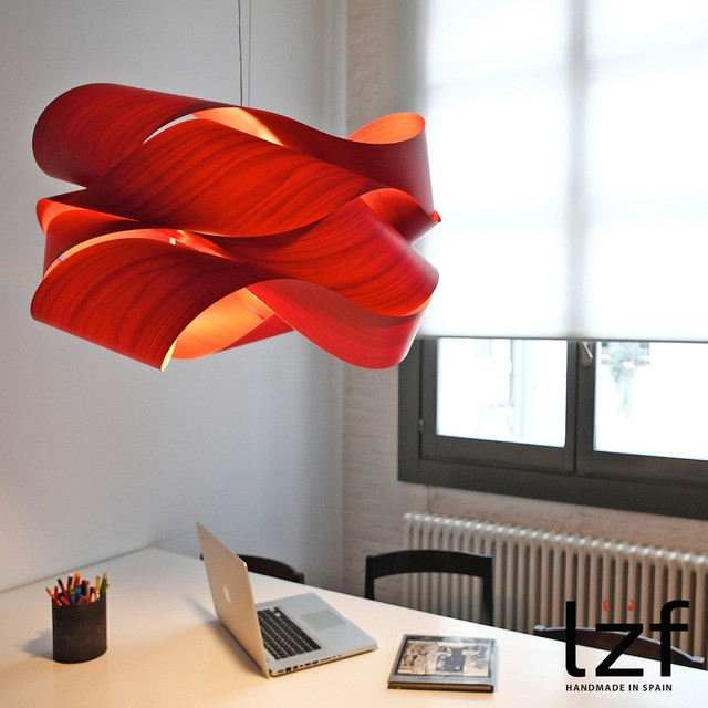 Magnificent Wellliked Modern Red Pendant Lighting Within Link Pendant Light Lzf (Image 21 of 25)