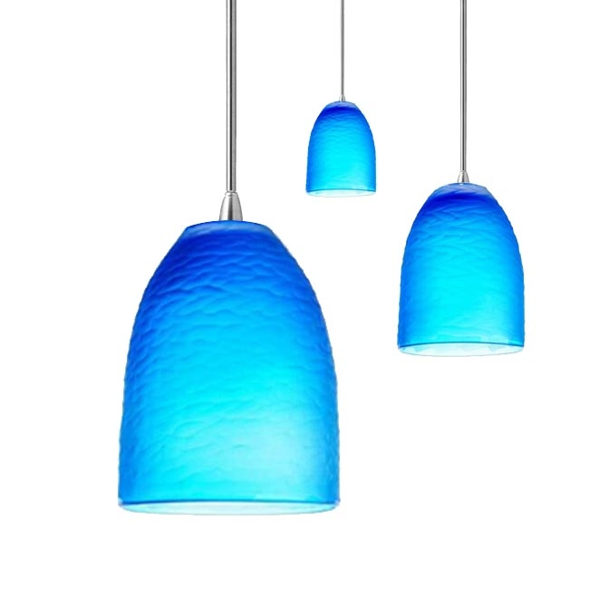 Magnificent Widely Used Blue Pendant Light Shades Inside Amazing Blue Pendant Lights Shades Of Blue Pendant Lights For (Image 21 of 25)