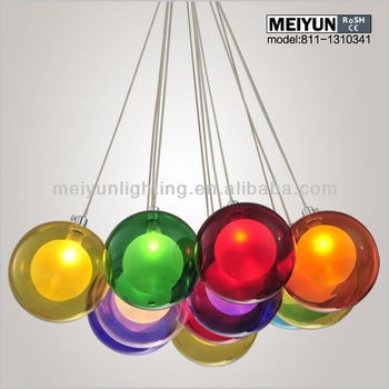 Magnificent Widely Used Multi Coloured Pendant Lights In Colored Pendant Lighting (View 5 of 25)