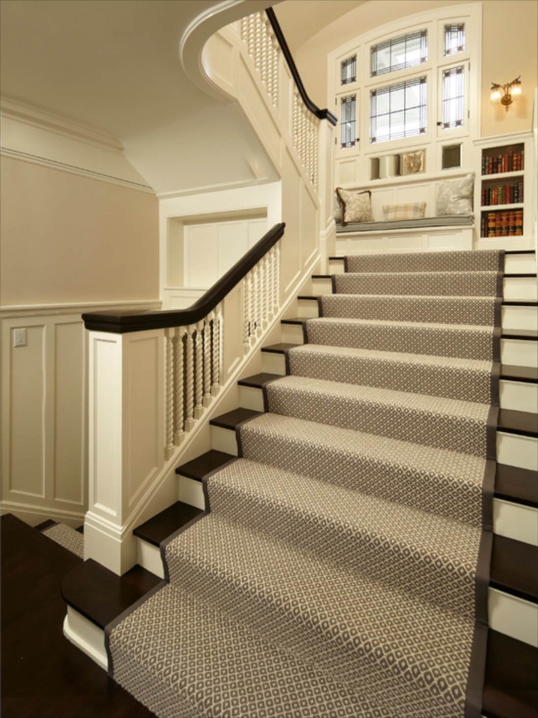 15 Best Stick On Carpet For Stairs Stair Tread Rugs Ideas