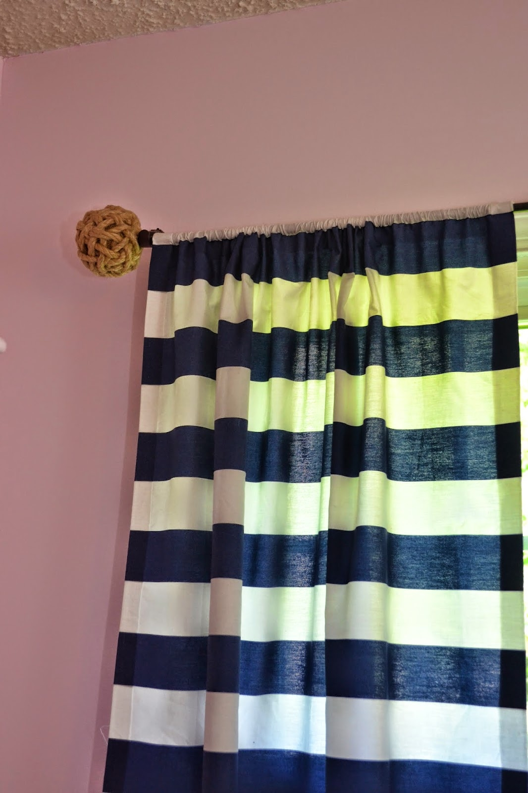 Manic Mama Miles Nautical Nursery Curtain Rods In Nautical Curtain Rods (Image 20 of 25)