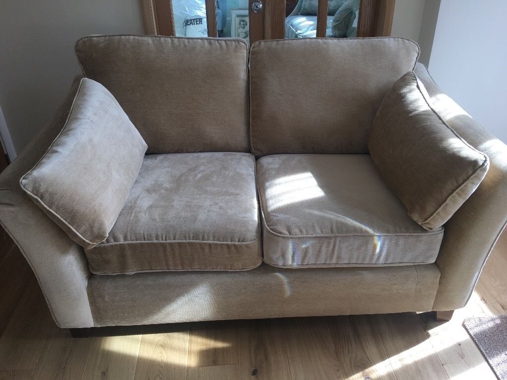 Marks And Spencer Ms Fenton Medium 2 Seater Sofa Sand Excellent Inside Marks And Spencer Sofas And Chairs (Image 6 of 15)