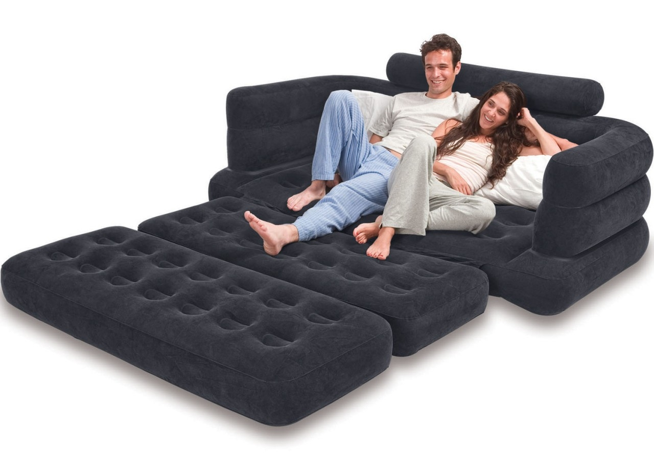 Mattress For Pull Out Sofa Bed And Intex Pull Out Sofa Chair Inside Pull Out Sofa Chairs (Image 13 of 15)