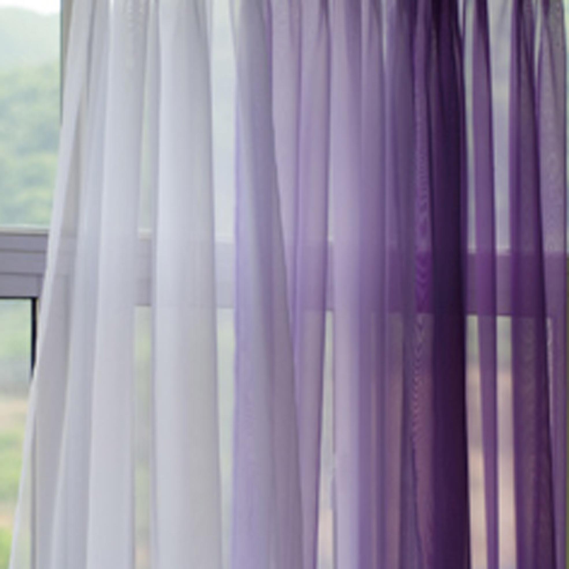 Mauve Sheer Curtains Regarding Mauve Sheer Curtains (View 18 of 25)