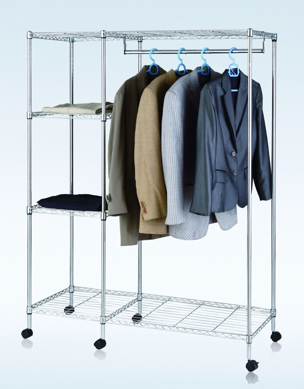 Metal Wardrobes Promotion Shop For Promotional Metal Wardrobes On In Metal Wardrobes (View 4 of 25)