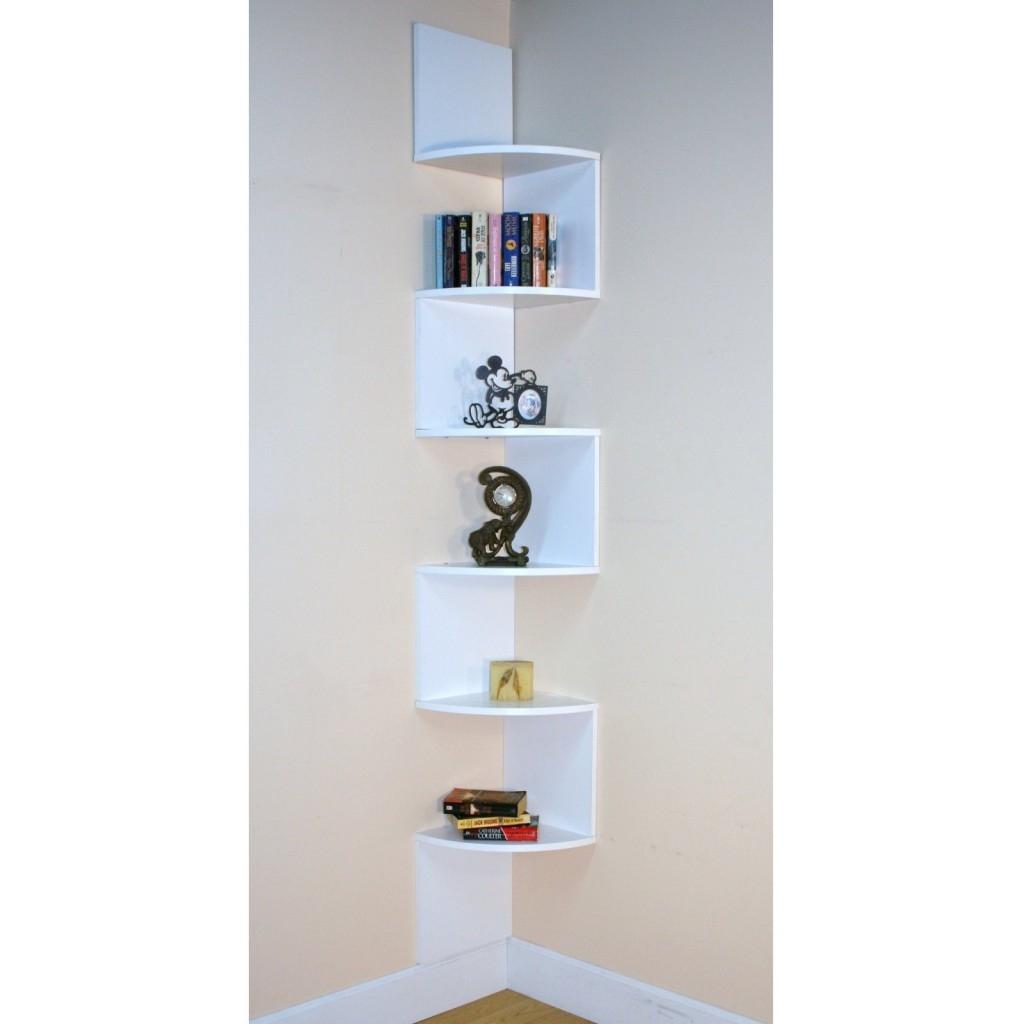 Modern Corner Shelves Regarding Large Glass Corner Shelves (View 6 of 15)