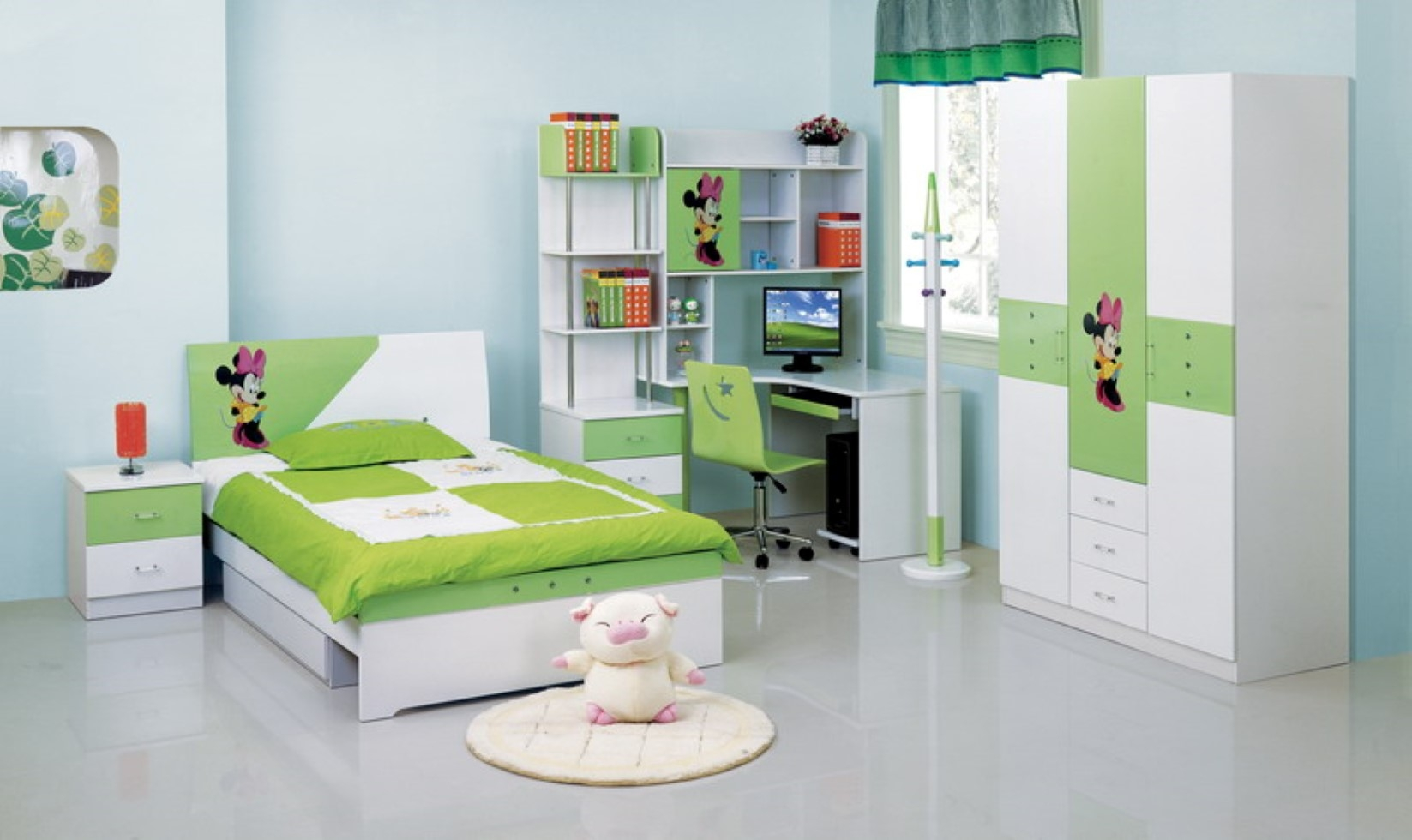 Modern Kid Bedroom Furniture Pertaining To Childrens Bedroom Wardrobes (Image 23 of 25)