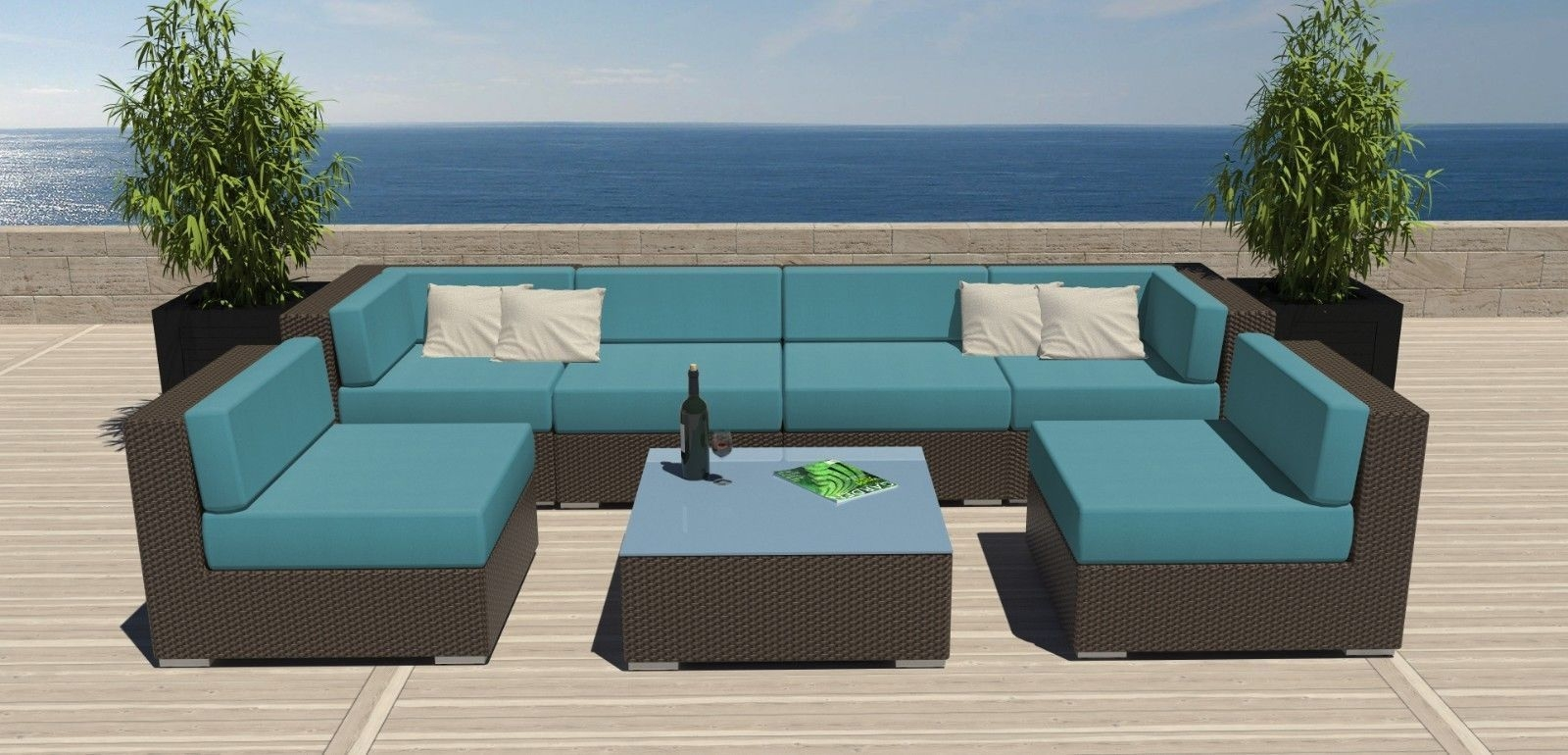 Modern Outdoor Furniture Sale With Regard To Outdoor Sofa Chairs (Image 9 of 15)