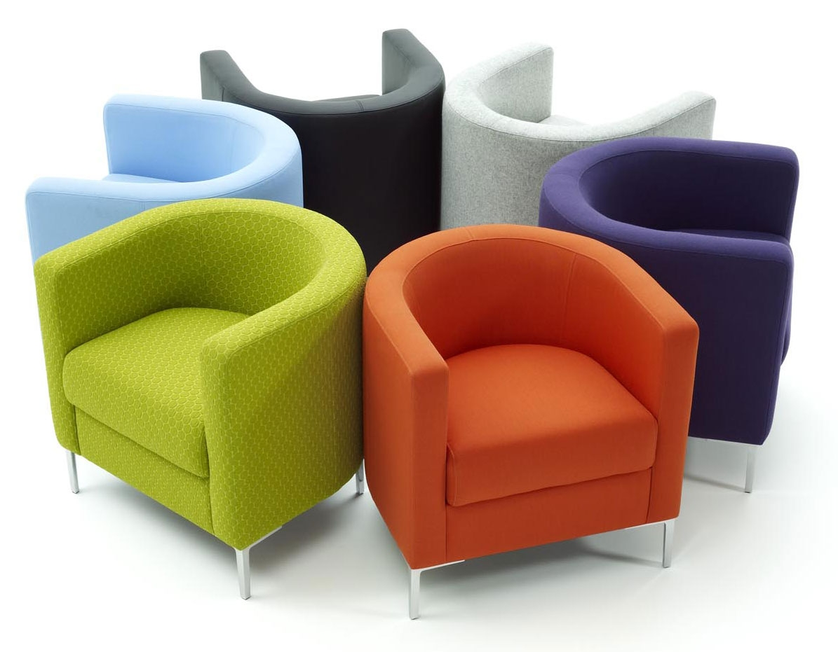 Modern Sofa Chair Pertaining To Contemporary Sofas And Chairs (Image 8 of 15)