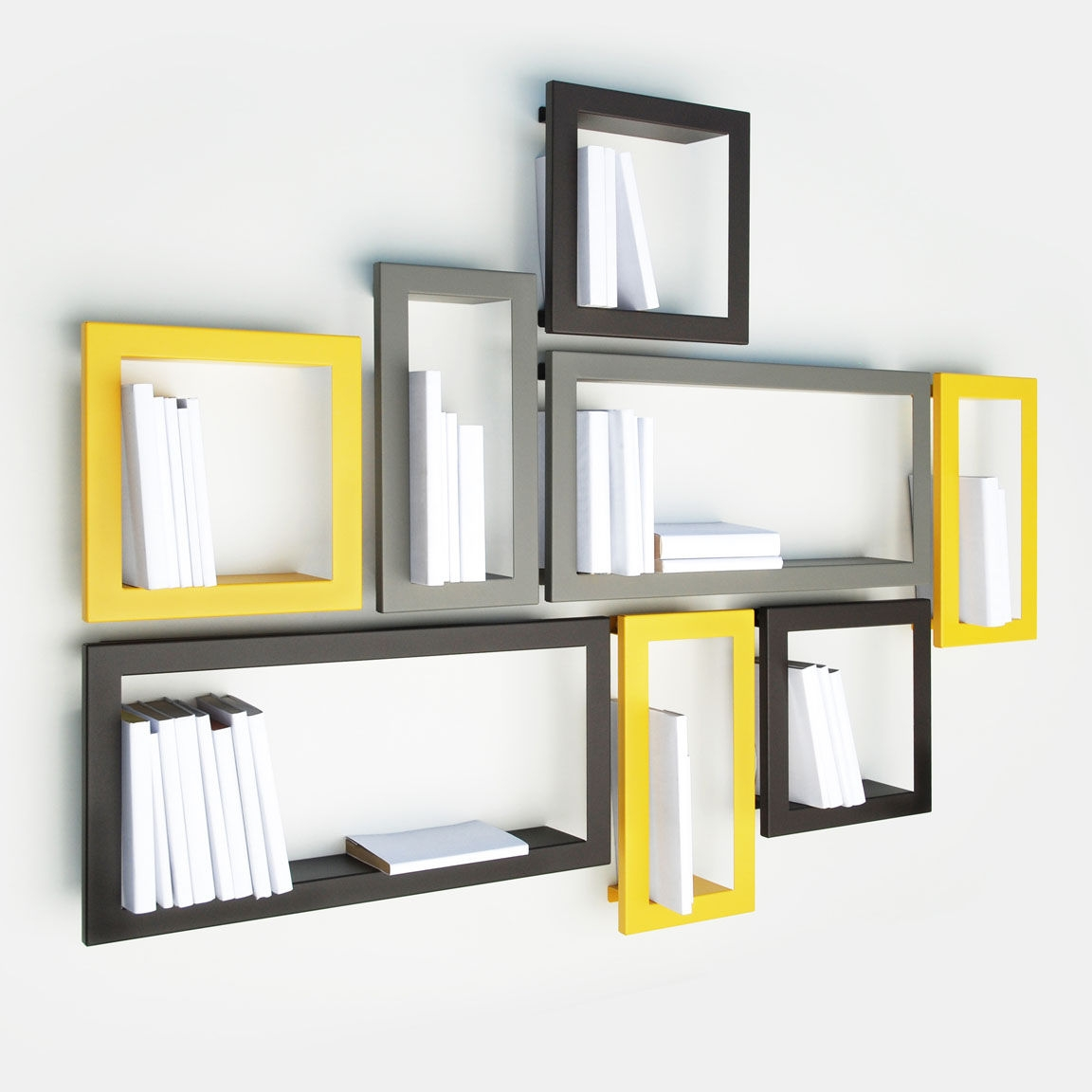 Modern Wall Mounted Shelves With Wall Mounted Shelves (Image 3 of 15)