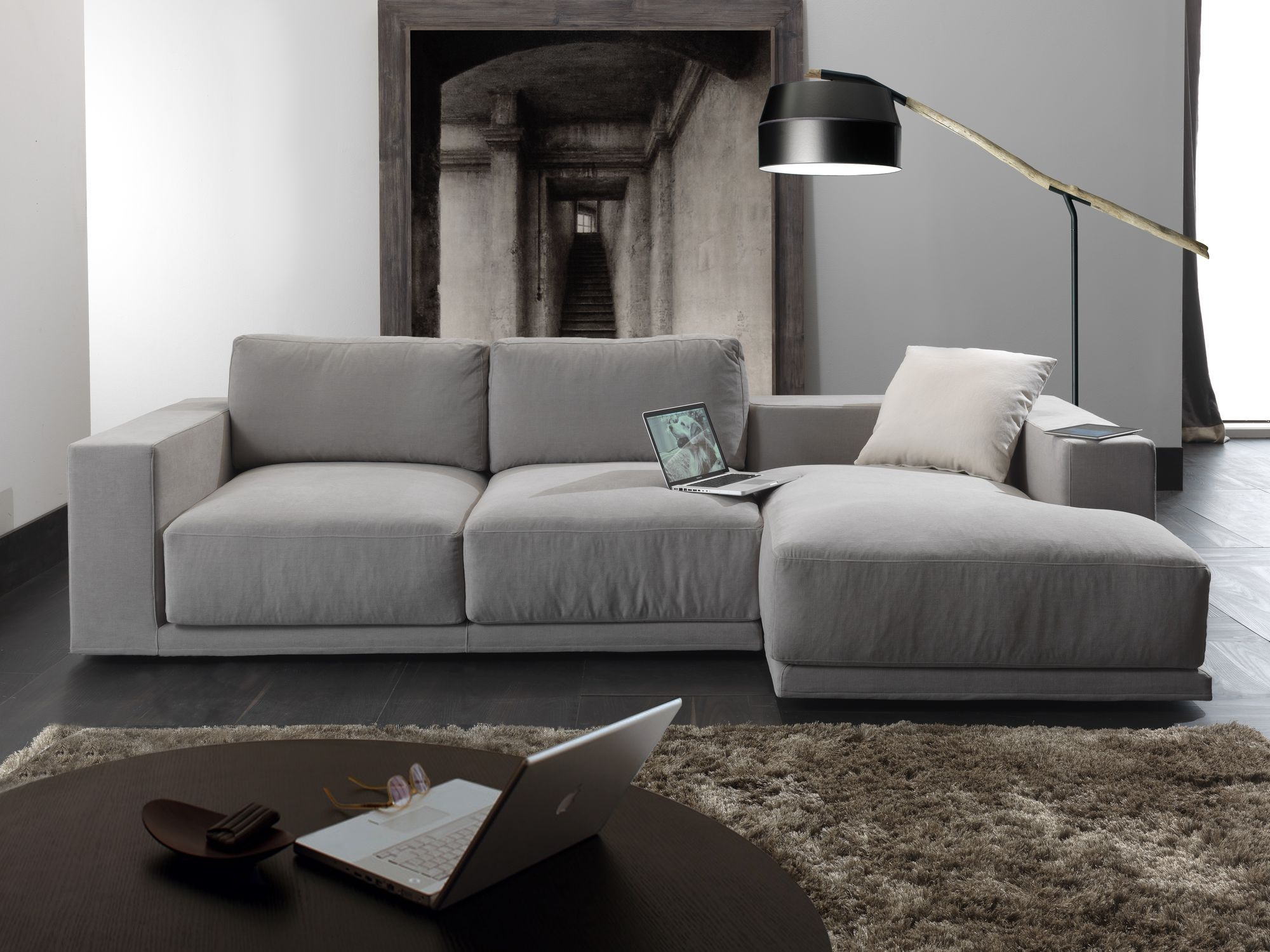 Modular Sofa Contemporary Fabric 3 Seater Relax Square In Contemporary Fabric Sofas (Image 14 of 15)