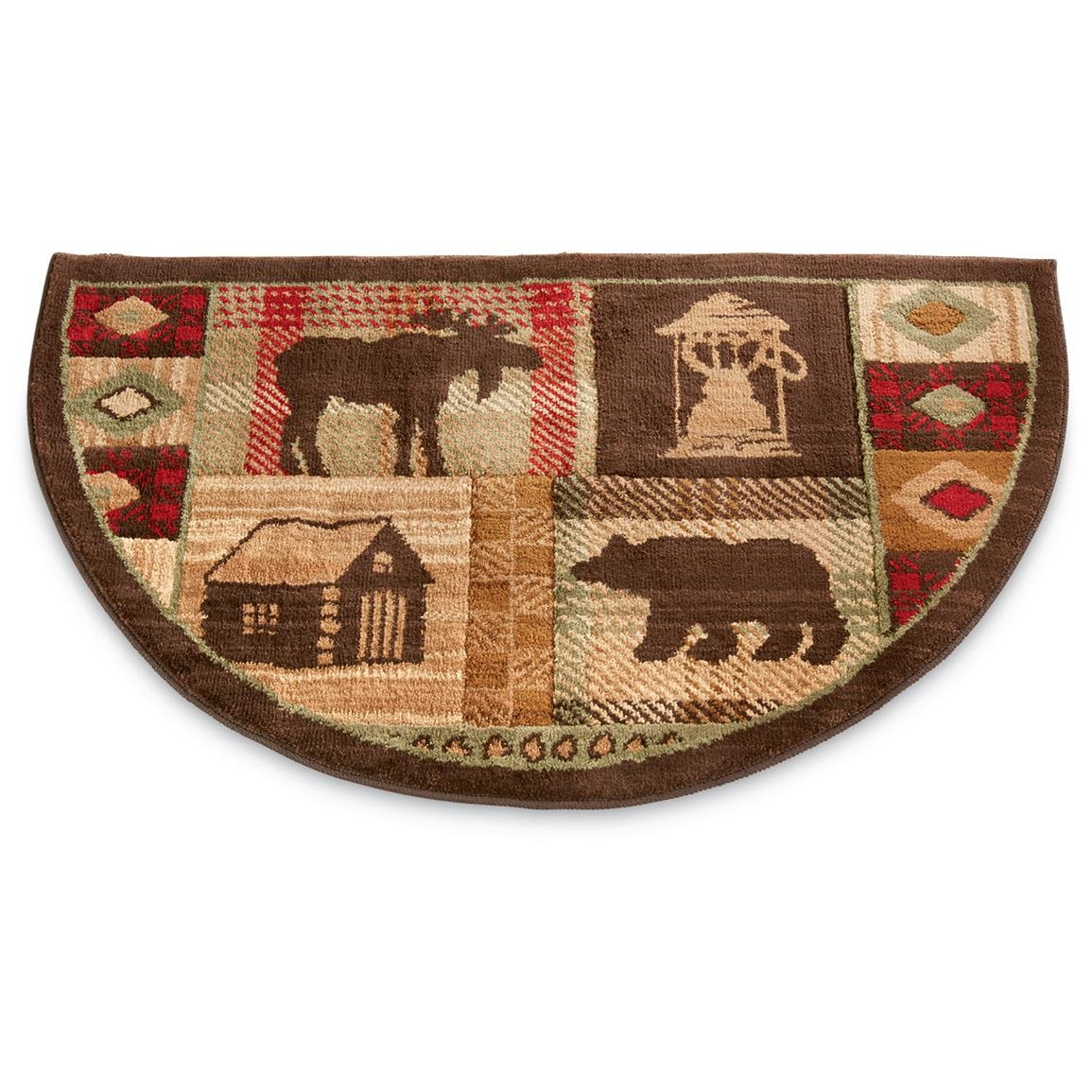 Mohawk Lodge Hearth Rug 233354 Rugs At Sportsmans Guide Throughout Hearth Rugs (View 4 of 15)