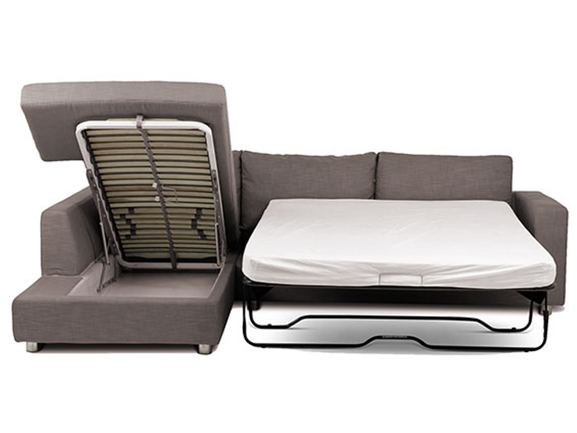 Mondo Storage Corner Sofa Bed Loungelovers For Corner Couch Bed (Image 12 of 15)