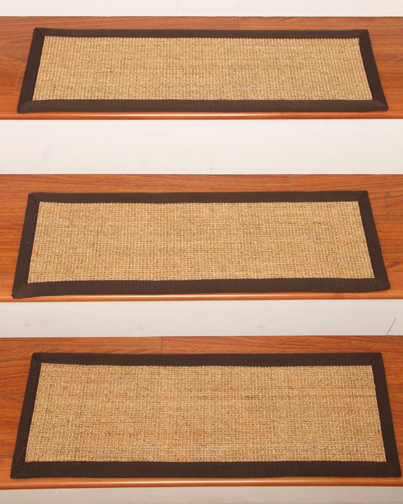 Montreal Carpet Stair Treads Natural Home Rugs Natural Home Rugs Inside Sisal Stair Tread Rugs (Image 9 of 15)
