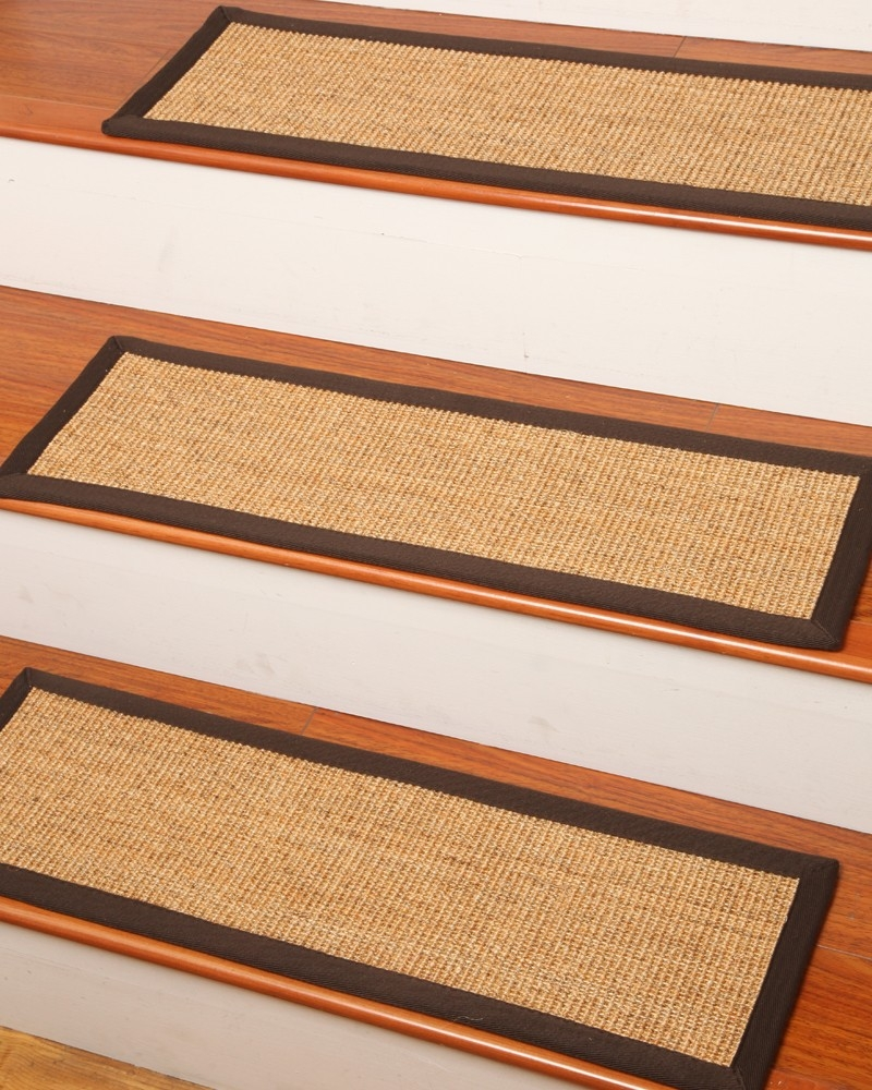 Montreal Carpet Stair Treads Natural Home Rugs Natural Home Rugs Pertaining To Natural Stair Tread Rugs (Image 6 of 15)