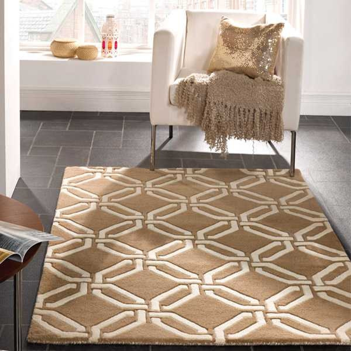 Moorish Meknes Beige Wool Rugs Flair Therugshopuk Inside Flair Rugs (Image 8 of 15)